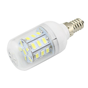 ieftine Becuri LED Corn-1 buc 3 W 280 lm E14 Becuri LED Corn T 27 LED-uri de margele SMD 5730 Decorativ Alb Cald / Alb Rece 12-24 V / 1 bc / RoHs