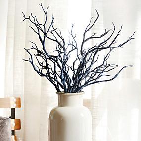 ieftine Casă & Grădină-Flori artificiale 2 ramură stil minimalist Plante Față de masă flori