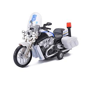 economico Macchinine di metallo-Macchinine giocattolo Motociclette giocattolo Moto Auto della polizia Auto Moto Cavallo Simulazione Musica e luce Unisex Giocattoli Regalo