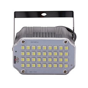 cheap LED Stage Lights-U'King 10 W LED Stage Lights Adjustable / Easy Install / Sound-Activated Cold White 110-240 V LED Beads / 1 pc / RoHS / CE Certified / FCC