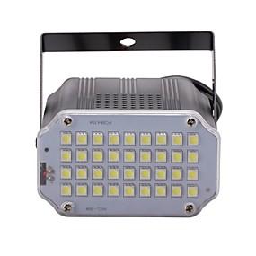 billige LED-scenebelysning-U'King 10 W LED-scenelampe Justerbar / Let Instalation / Lydaktiveret Kold hvid 110-240 V LED Perler / 1 stk. / RoHs / CE / FCC