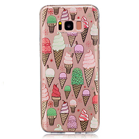 halpa Galaxy S -sarjan kotelot / kuoret-Etui Käyttötarkoitus Samsung Galaxy S8 Plus / S8 Läpinäkyvä / Kuvio Takakuori Ruoka Pehmeä TPU varten S8 Plus / S8 / S5 Mini