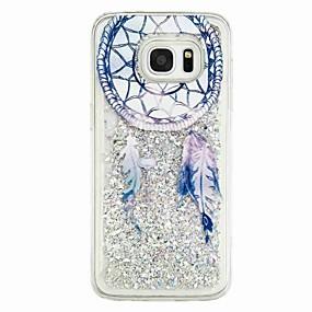 voordelige Galaxy S7 Hoesjes / covers-hoesje Voor Samsung Galaxy S7 edge / S7 / S6 edge Stromende vloeistof / Patroon Achterkant Dromenvanger Zacht TPU