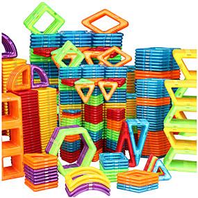 povoljno Modeli i zgrade-Magnetski blok Magnetske pločice Kocke za slaganje 128 pcs Automobil Roboti Ferris Wheel kompatibilan Legoing Dar S magnetom 3D Dječaci Djevojčice Igračke za kućne ljubimce Poklon