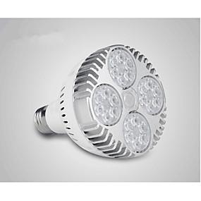 billige LED-parlamper-36 W LED-parlamper 400-450 lm 24 LED Perler Højeffekts-LED Hvid 220-240 V / 1 stk.
