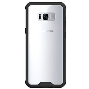 voordelige Galaxy S7 Edge Hoesjes / covers-hoesje Voor Samsung Galaxy S8 Plus / S8 / S7 edge Schokbestendig / Transparant Achterkant Effen Hard Acryl