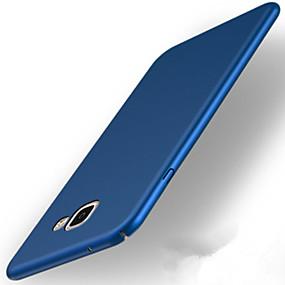 billige Mobiltelefonstilbehør-Etui Til Samsung Galaxy A5(2017) / A3(2017) Ultratyndt / Syrematteret Bagcover Ensfarvet Hårdt PC for A3 (2017) / A5 (2017) / A7 (2017)