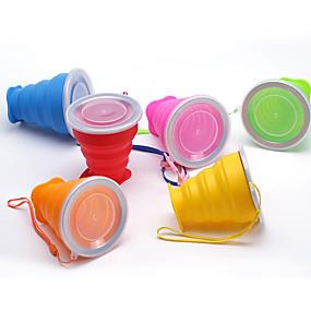 economico Accessori da viaggio-Mugs di Viaggio / coppa Ripiegabile Posate e bicchieri da viaggio Gel di Silice 9*8/4.5cm cm