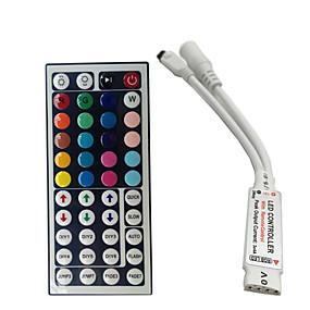 Недорогие RGB контроллеры-мини-24-клавишный контроллер rgb ir для контроллера 3528 или 5050 rgb с небольшим контроллером rgb Бесплатная доставка