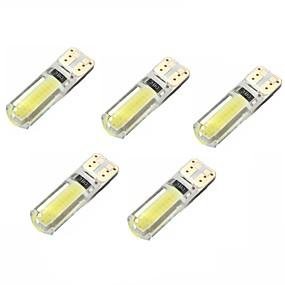 voordelige Auto-achterverlichting-5 stuks T10 Automatisch Lampen 2 W COB 250 lm Interior Lights Voor