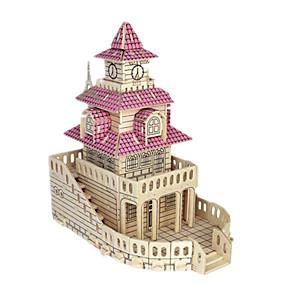 olcso Modellek és építőjáték-3D építőjátékok / Fejtörő / Modeli i makete Népszerű épület / Bútor / Ház DIY / tettetés Fa Klasszikus Gyermek Uniszex Ajándék