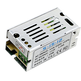 Недорогие Преобразователи напряжения-Осветительные трансформаторы hkv® 12.5a 15w привели драйвер питания адаптера для электропитания светодиодного фонаря