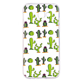 voordelige Galaxy A5(2016) Hoesjes / covers-hoesje Voor Samsung Galaxy A3 (2017) / A5 (2017) / A7 (2017) Transparant / Patroon Achterkant Boom Zacht TPU