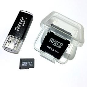 billige PC- og tablettilbehør-32GB Micro SD kort TF Card hukommelseskort Class10 AntW5-32