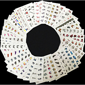 ieftine Acțibilde Unghii-50 Nail Art autocolant Other machiaj cosmetice Nail Art Design