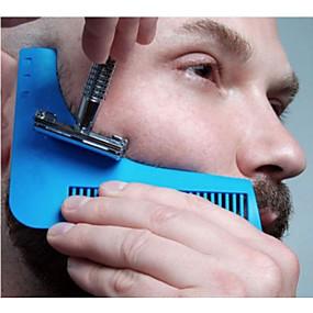 povoljno Gadgeti za kupaonicu-brada oblikovanje styling predložak brada češalj sve-u-jednom alat češalj za kosu brada trim predložak