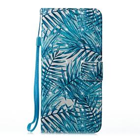 voordelige Galaxy S7 Hoesjes / covers-hoesje Voor Samsung Galaxy S8 Plus / S8 / S7 edge Portemonnee / Kaarthouder / met standaard Volledig hoesje Boom Hard PU-nahka