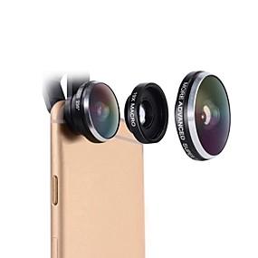 billige Smartphone-fotografering-mobiltelefon linse mactrem 235 graders fisheye 19x super makro universel kameratelefon linse