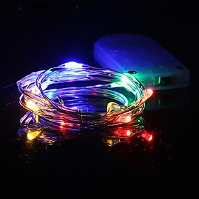 Led Lighting 12v 1a Power Adapter Festival Christmas Party Decor Indoor Outdoor Use Iq Copper Led String Light 10m 100leds