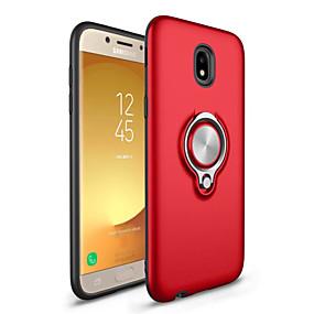 voordelige Galaxy J7(2017) Hoesjes / covers-hoesje Voor Samsung Galaxy J7 Prime / J7 (2017) / J7 (2016) Ringhouder Achterkant Effen Hard PC