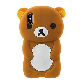 hesapli iPhone Kılıfları-Pouzdro Uyumluluk Apple iPhone X / iPhone 8 Plus Temalı Arka Kapak Karton Yumuşak Silikon için iPhone X / iPhone 8 Plus / iPhone 8