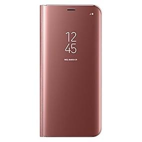 halpa Galaxy S -sarjan kotelot / kuoret-Etui Käyttötarkoitus Samsung Galaxy S8 Plus / S8 Tuella / Flip Suojakuori Yhtenäinen Kova PU-nahka varten S8 Plus / S8