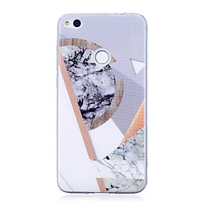 voordelige Huawei Honor hoesjes / covers-hoesje Voor Huawei IMD / Patroon Marmer Zacht