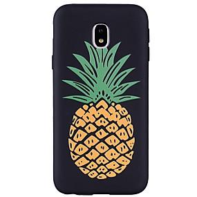 voordelige Galaxy J3 Hoesjes / covers-hoesje Voor Samsung Galaxy J7 (2017) / J5 (2017) / J5 (2016) Reliëfopdruk / Patroon Achterkant Fruit Zacht TPU