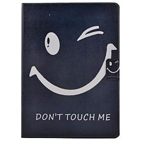 voordelige Galaxy Tab 3 10.1 Hoesjes / covers-hoesje Voor Samsung Galaxy Tab 3 10.1 Kaarthouder / met standaard / Flip Volledig hoesje Woord / tekst Hard PU-nahka