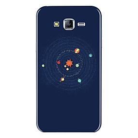 voordelige Galaxy J5(2017) Hoesjes / covers-hoesje Voor Samsung Galaxy J7 (2017) / J7 (2016) / J7 Patroon Achterkant Cartoon Zacht TPU