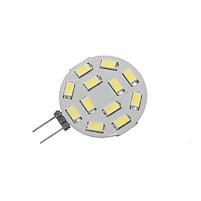 abordables Luces LED de Doble Pin-SENCART 1pc 5 W Luces LED de Doble Pin 360 lm G4 T 12 Cuentas LED SMD 5730 Decorativa Blanco Cálido Blanco Fresco 12-24 V