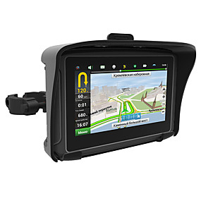 billige GPS-sporingsenheder-hot 4,3 vandtæt ipx7 motorcykel gps navigation moto navigator med fm bluetooth 8g flash prolech bil gps (opdater kort kontakt kundeservice)