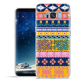 voordelige Galaxy S7 Edge Hoesjes / covers-hoesje Voor Samsung Galaxy S8 Plus / S8 / S7 edge Patroon Achterkant Cartoon Zacht TPU