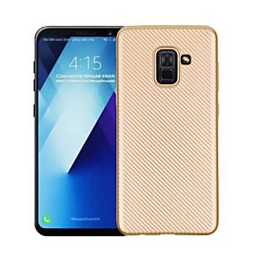 voordelige Galaxy A7(2016) Hoesjes / covers-hoesje Voor Samsung Galaxy A3 (2017) / A5 (2017) / A7 (2017) Ultradun Achterkant Effen Zacht TPU