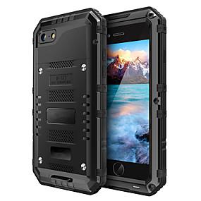 ราคาถูก เคสสำหรับ iPhone-Case สำหรับ Apple iPhone X / iPhone 8 น้ำ / ดิน / ช็อกหลักฐาน ตัวกระเป๋าเต็ม สีพื้น Hard พีซี สำหรับ iPhone XS / iPhone XR / iPhone XS Max
