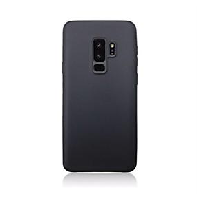 halpa Galaxy S -sarjan kotelot / kuoret-Etui Käyttötarkoitus Samsung Galaxy S9 Plus / S9 Ultraohut Takakuori Yhtenäinen Pehmeä Silikoni varten S9 / S9 Plus / S8 Plus