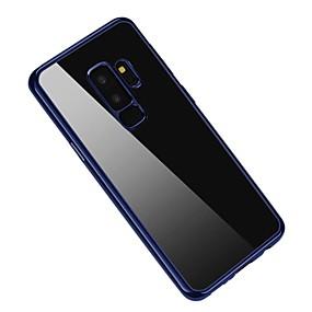 halpa Galaxy S -sarjan kotelot / kuoret-Etui Käyttötarkoitus Samsung Galaxy S9 Plus / S9 Pinnoitus Takakuori Yhtenäinen Pehmeä TPU varten S9 / S9 Plus