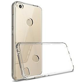 ieftine Accesorii Telefon Mobil-Maska Pentru Huawei P10 Lite / P10 Transparent Capac Spate Mată Moale TPU pentru P10 Lite / P10 / Huawei P9 Lite
