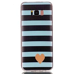 voordelige Galaxy S6 Edge Plus Hoesjes / covers-hoesje Voor Samsung Galaxy S8 Plus / S8 / S7 edge Patroon Achterkant Hart Zacht TPU