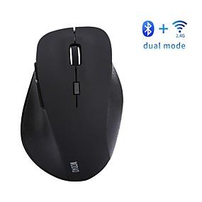 levne Myši & Klávesy-LITBest E1802 Bezdrátový bluetooth4.0 / Bezdrátové zařízení 2.4G Optické ergonomická myš LED světlo 800/1200/1600 dpi 3 Nastavitelné úrovně DPI 6 pcs Klíče