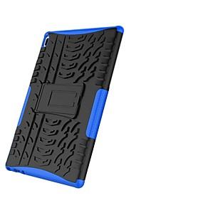 voordelige Mobiele telefoonhoesjes-hoesje Voor Lenovo Tab 4 10 Schokbestendig / met standaard / Schild Achterkant Tegel / Schild Hard PC voor Lenovo Tab 4 10