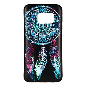 voordelige Galaxy S6 Edge Plus Hoesjes / covers-hoesje Voor Samsung Galaxy S8 / S7 edge / S7 Patroon Achterkant Dromenvanger Zacht TPU