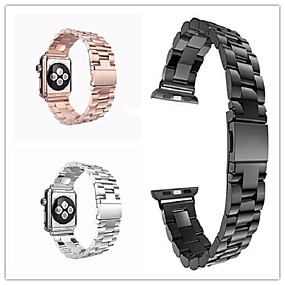 halpa HOCO-Watch Band varten Apple Watch Series 4/3/2/1 Apple Butterfly Buckle Ruostumaton teräs Rannehihna