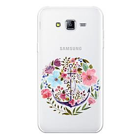 voordelige Galaxy J5 Hoesjes / covers-hoesje Voor Samsung Galaxy J7 (2017) / J7 (2016) / J7 Patroon Achterkant Cartoon / Bloem Zacht TPU