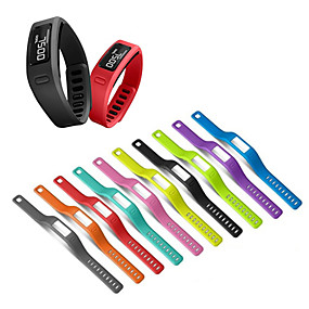tanie Akcesoria do smartwatchów-Watch Band na Vivofit Garmin Pasek sportowy Silikon Opaska na nadgarstek
