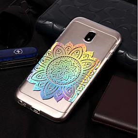 voordelige Galaxy J5 Hoesjes / covers-hoesje Voor Samsung Galaxy J7 (2017) / J7 (2016) / J7 IMD / Patroon Achterkant Bloem Zacht TPU