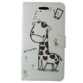 levne Galaxy S pouzdra / obaly-Carcasă Pro Samsung Galaxy S7 Peněženka / Pouzdro na karty / se stojánkem Celý kryt Zvíře / Komiks Pevné PU kůže pro S7 / S6 edge / S6