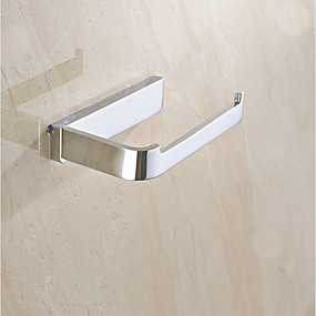cheap Bathroom Gadgets-Toilet Paper Holder Multifunction Contemporary Brass 1pc - Bathroom Wall Mounted