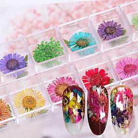 cheap Makeup & Nail Care-Decals For Finger Nail Toe Nail Handmade nail art Manicure Pedicure Sweet Wedding / Dailywear