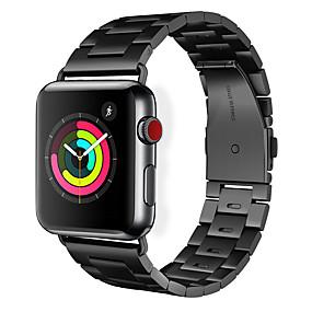 abordables Marques Premium-Bracelet de montre hoco pour la montre apple série 4/3/2/1 apple boucle classique bracelet en acier inoxydable